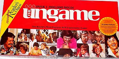 Vintage THE UNGAME Board Game Rhea Zakich Featured in Reader's Digest Rare