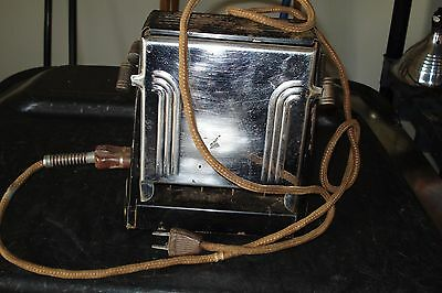 vintage Seneca toaster with timer.