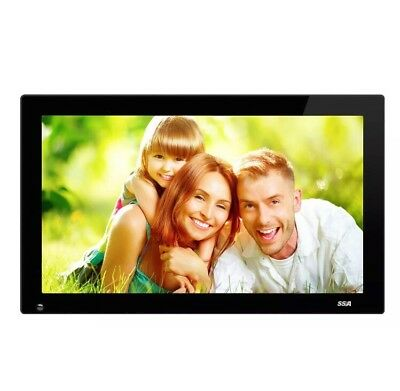 SSA 21.5 Inch Full HD 1080P Widescreen Digital Photo Frames with Motion Senso...
