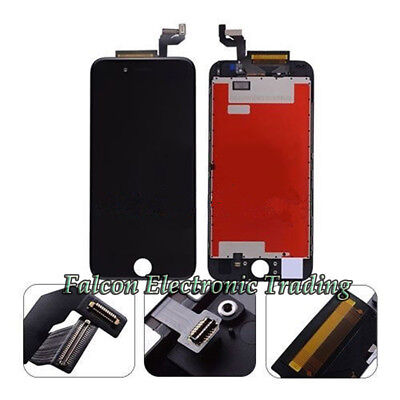 "For Black iPhone 6S 4.7"" LCD Replacement Screen Touch Digitizer Assembly From CA"