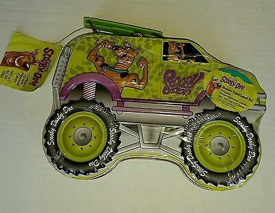 Scooby doo Lunch box Tin Monster Truck with Tags