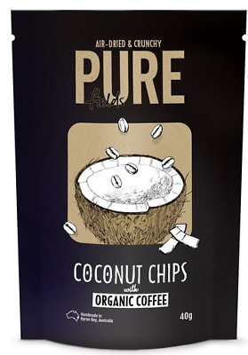 Pure Fields Coconut Chips Organic Coffee - 40g
