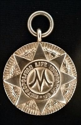 Tiffany & Co. Sterling Silver Metropolitan Life Insurance Medallion Pendant