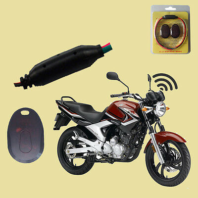 Immobilizer Silent Anti-burglar Motorcycle Security RFID Lock Kit 12V Universal