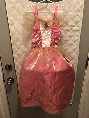 New With Tags Princess Aurora Sleeping Beauty Dress Gown Size 4-6