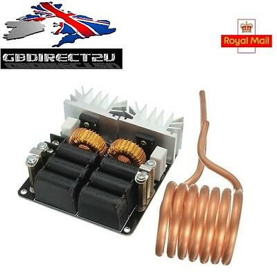 Low ZVS 12-48V 20A 1000W High Frequency Induction Heating Machine Module NEW UK