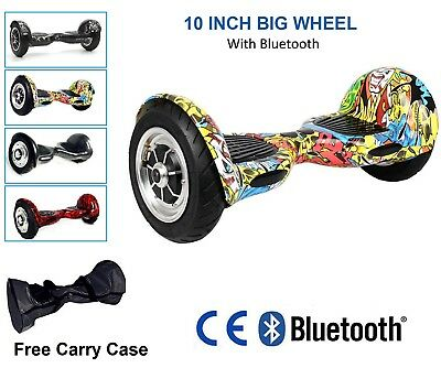 10'' Gyropode Bluetooth électrique Scooter Self Balancing Scooter Balance Board*