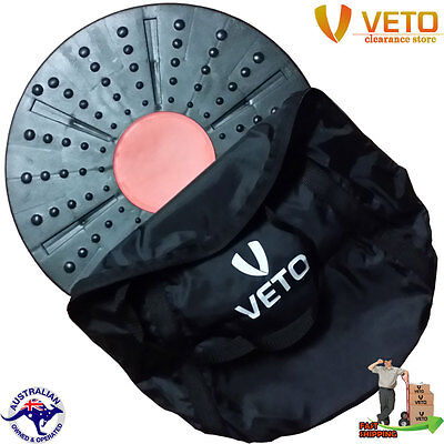 Veto Wobble Board - Balancing Board, core strength, abs workout, conditioning.
