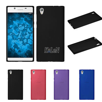 Frosted Matte TPU Silicone Case Cover Skin For Sony Xperia L1 G3311 G3312 G3313
