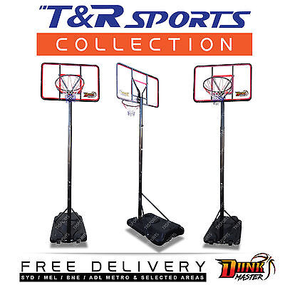 Portable Basketball System/Stand/Ring/Hoop Full Size Adjustable Height S026