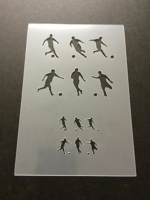 Football Mylar Reusable Stencil Airbrush Painting Art Craft DIY Home Decor
