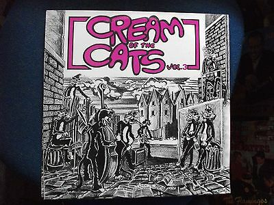 PSYCHOBILLY LP - VARIOUS ARTISTS - Cream Of The Cats Vol.3