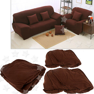 Generic  1 2 3 Seater  For Stretch Elastic Slip Cover Sofa Armchair Couch