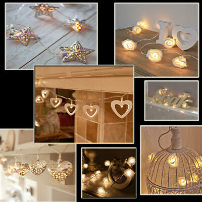 2/3/10M String Fairy Lights Battery LED Indoor Wedding Party Decor Xmas Lights