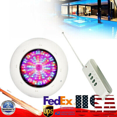 360 LED Swimming Pool Spa Lights 36W RGB 12V Underwater Waterproof Lamp+Remote