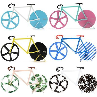DOIY Official Fixie Bike Pizza Cutter Stainless Steel Bicycle Cutters