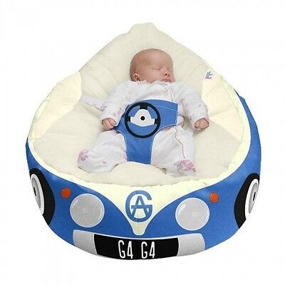 Gaga Luxury Cuddlesoft 'Iconic Campervan' Baby Bean Bags | Filling Included