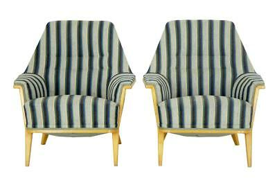 PAIR OF 1960's BIRCH ANDERSSON ARMCHAIRS