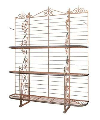 Early 20Th Century French Parisienne Boulangers Bread Rack