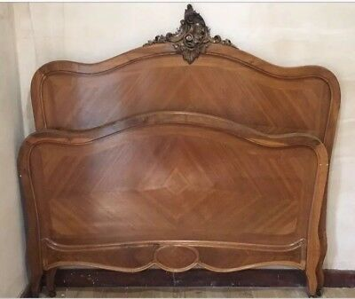 Antique Wooden Double Bed ** Free delivery - see listing for details **