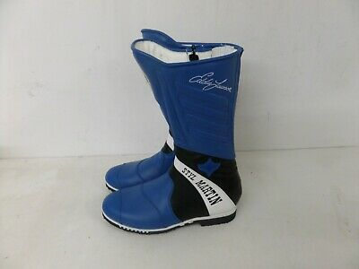Stylmartin Motorcycle Motorbike Racing Boots - Blue/black 185 - Various Sizes