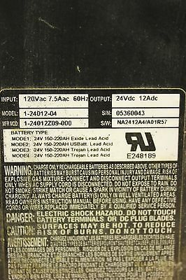 24v battery charger DPI Diversified Power International Hyster Yale 1-24012-04