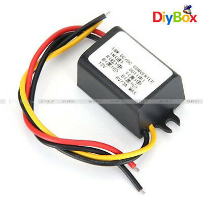 DC 12V To 6V Converter Module 3A Step Down Power Output Adapter