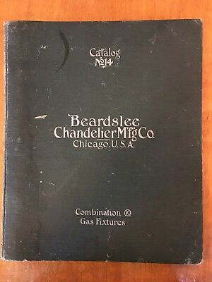 Antique Beardslee Chandelier Combination & Gas Fixtures Catalog No. 14