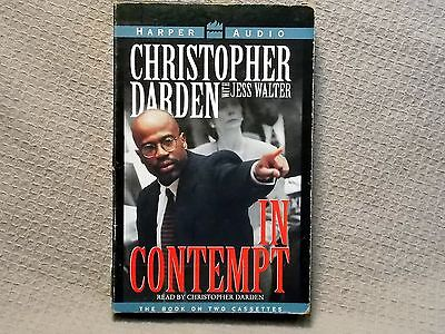 IN CONTEMPT by CHRISTOPHER DARDEN - ABRIDGED ON CASSETTE