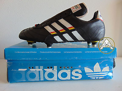 Vintage 90 ADIDAS Attacker Cup Scarpe 9 Calcio 42.5 Soccer Shoes Boots 80