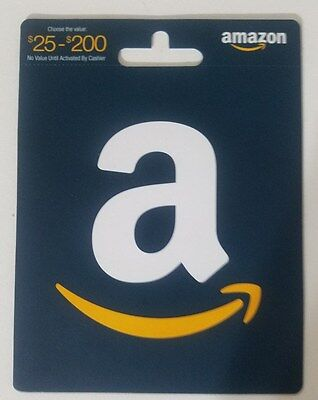 $200 Value Amazon Gift Card