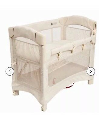 ARM'S REACH CO-SLEEPER - EXCELLENT CONDITION W/ 1 Sheet - Neutral color