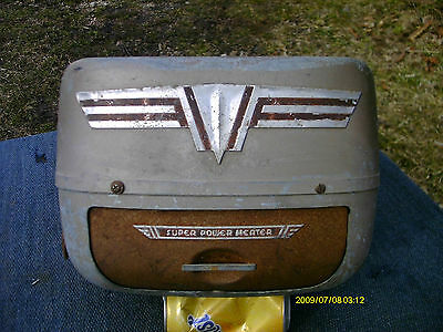 HOT RAT ROD ART DECO heater MODEL T A FORD CHEVY OLDSMOBILE BUICK