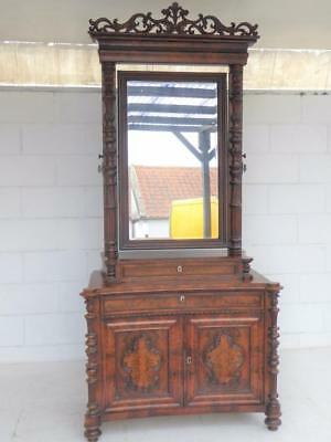 Superb Victorian Mahogany Dressing Table/chest/cupboard