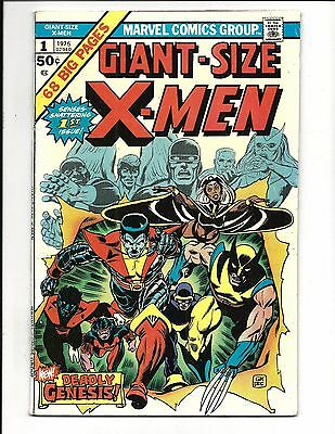 GIANT SIZE X-MEN # 1 (New X-Men Team, Storm, 2nd Wolverine, 1975), FN