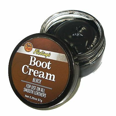 Fiebing's Fiebings Professional Leather Boot Cream Polish - 2.25 oz. Black/Brown
