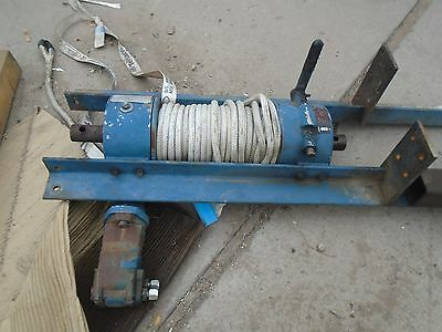Ramsey Winch Hydraulic Model 400: 10000lb - Good Condition