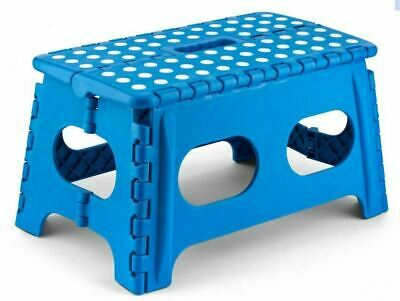 Plastic Wide Multi Purpose Folding Home Foldable Easy Storage Step Stool