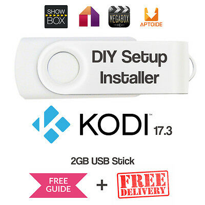 KODI Installer Files Build Setup Easy DIY 3 -Step USB Stick for Amazon Fire TV