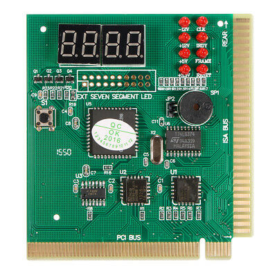 Diagnostic PCI 4-Digit Card PC Motherboard Post Checker Tester Analyzer R7N5
