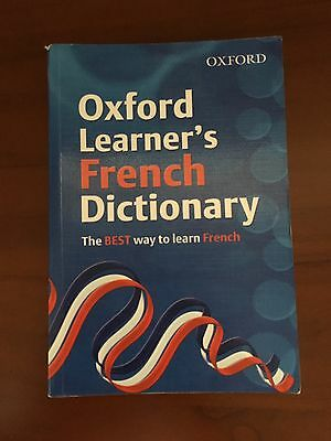 Oxford Learner's French Dictionary Used Very Good Condition