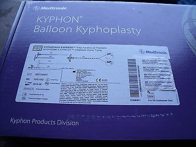 KPE1002 Medtronic 10/2 Kyphon Express Tray, Additional Fracture (x)!  K1