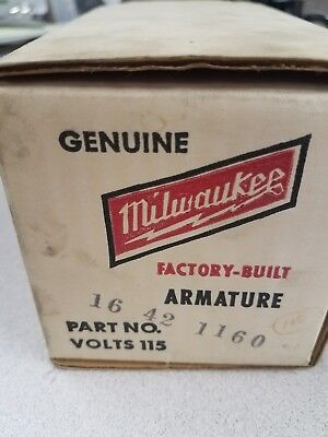 16-42-1160 New Milwaukee Tool 115 volts armature