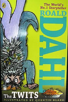 The Twits by Roald Dahl Paperback Book