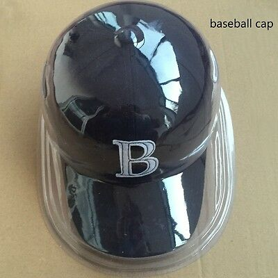 3pc Baseball Cap Display Case Plastic Clear Storage Holder Dustproof Protect New