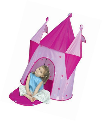 Fairy Castle Girls Play Tent Princess Pink Dream House