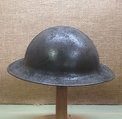"W.W.1 M1917 ""Doughboy"" Helmet, Recently Refinished, No Liner."