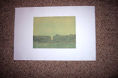 "Russell Chatham Etching ""Sunset"" Limited Edition Signed Numbered excellent"