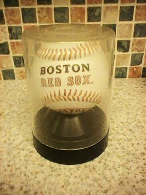 Boston Red Sox 2002 Team Signed Baseball In Professional Plastic Display Case