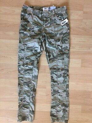 Old Navy Camouflage Pants Size 12 Girls NWT Elastic Waistband